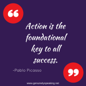 Action is the foundational key to all(1)